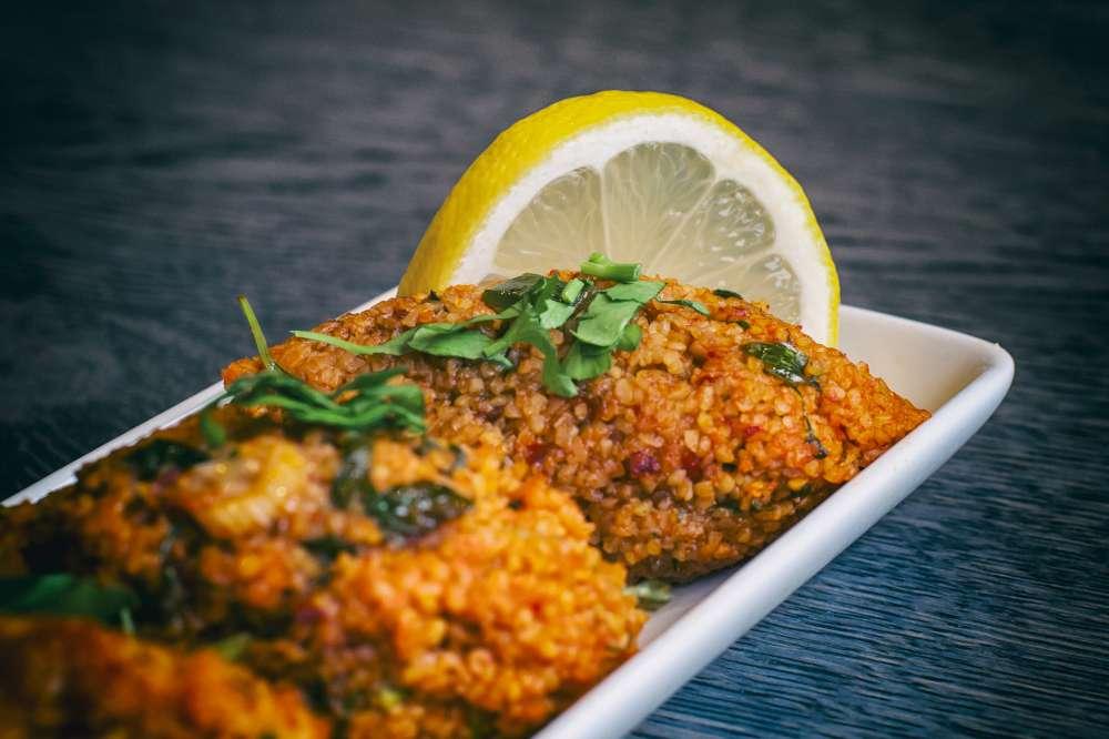 A Serving Of A Burnt Jollof Rice