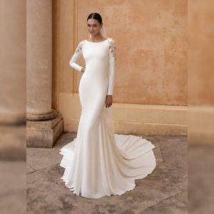 Wedding Dress with Mermaid Cut