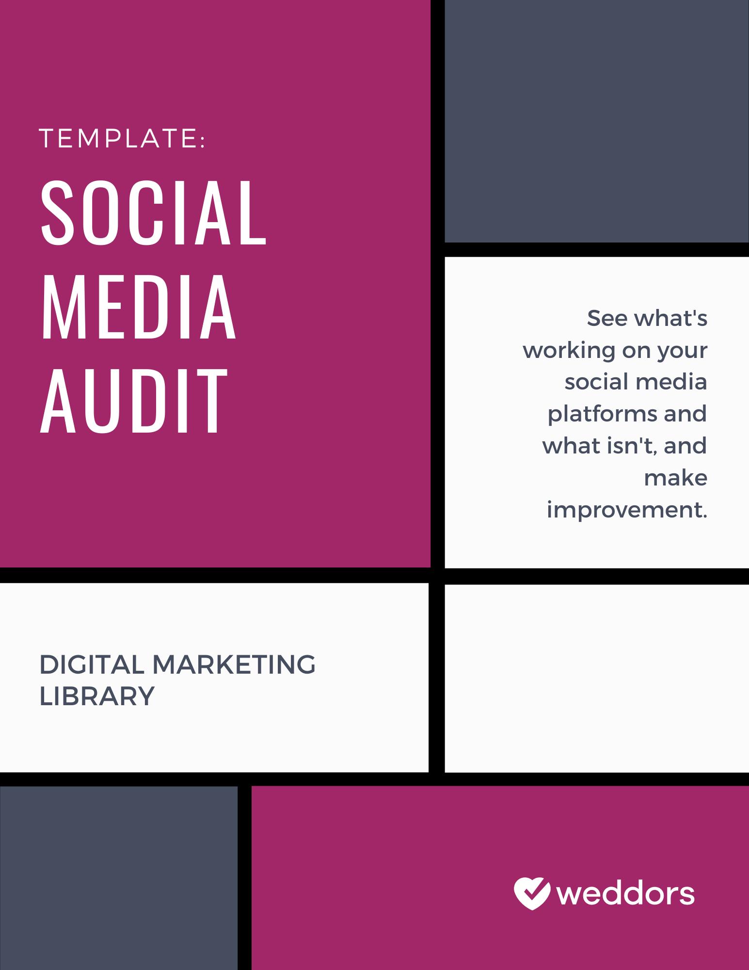 Social Media Audit Template