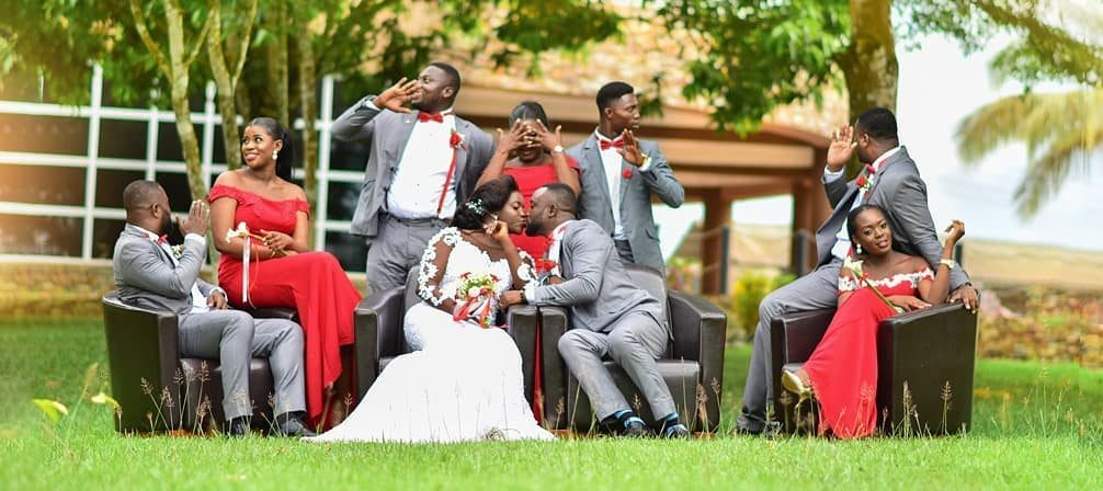 wedding colours and style