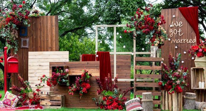 Wood Wedding Style Theme